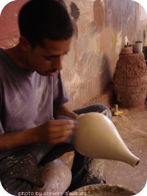 Stage Tadelakt à marrakech avec Ateliers d'Ailleurs