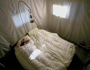 chambre un lit au pré