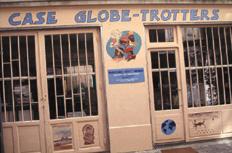 La case de Globe-trotters