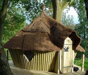 Une nuit en cabane dans les arbres - abane