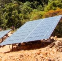 l'Eden Lodge s'est doté de la plus importante centrale solaire