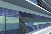 Eoseas - des panneaux solaires sur la double-peau