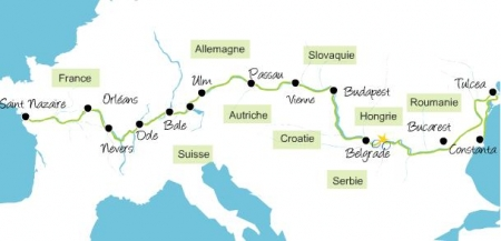 Eurovelo 6  - l'europe à vélo