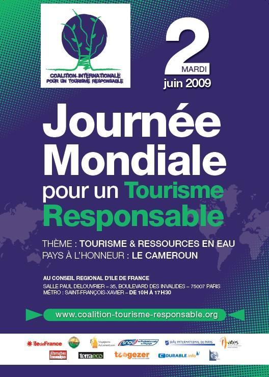 Journée mondiale du Tourisme Responsable 2009