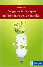 Gestes écolos = économies