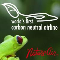 Nature Air est la première compagnie aérienne dans le monde a être certifié neutre en carbone.