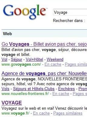 La plus grande agence de voyages du monde est un moteur de recherche !