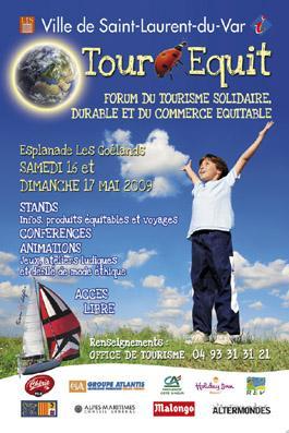 St Laurent Du Var : 1er Forum du Tourisme Solidaire, Durable