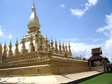 That Luang, Vientiane - capitale du Laos