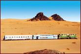 Chemins de sables en Mauritanie