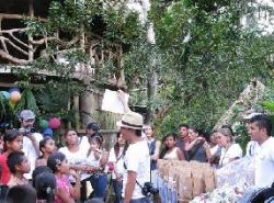 Projet Bambu - écovolontariat et développement de la communauté