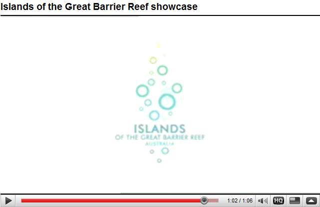 Les iles du queensland en video