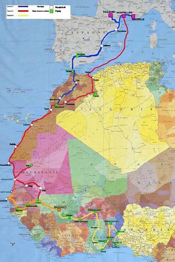 Caravane Solidaire Europe Afrique