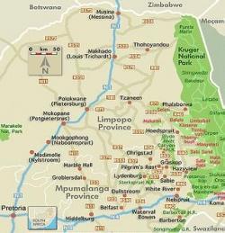 Parc National Kruger - la plus grande réserve animalière d'Afrique du Sud.