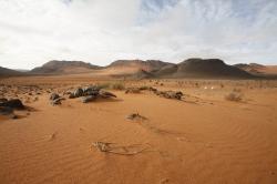 Désert de l'atlas marocain