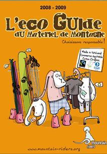 Eco Guide du Matériel Montagne - Mountain Riders