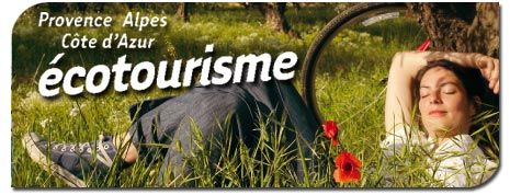 Carte Ecotourisme en PACA