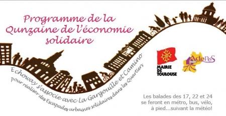 Escapades urbaines solidaires à Toulouse avec Echoway, La Gargouille et Camino