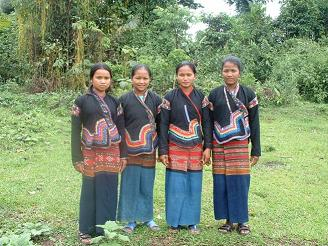 L'ethnie Khmu - lao des versants
