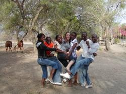 Volontariat d'éducation avec DAKTARI