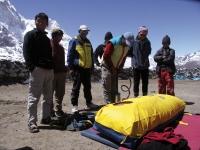 Formation des guides népalais