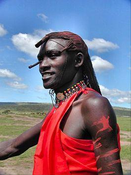 Je serai un Maasai