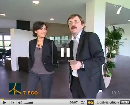 visite de l'eco-hotel La Grée des landes