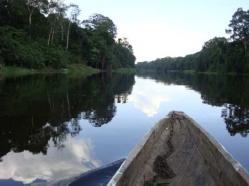 éco-village d'Ebogo et fleuve Nyong au cameroun