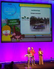 Au Fil de l'eau - lauréat des trophées du tourisme responsable 2009