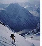 ski dans les alpes polaires