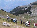 voyages à pied en Italie