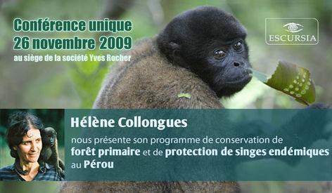 conférence avec Hélène Collongues
