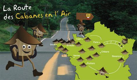 Prenez la Route des Cabanes en L'Air