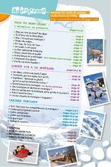 Sommaire du Carnets de vacances au pays du Mont-Blanc