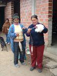 filage de laine artisanale en argentine
