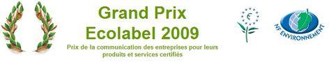 Grand Prix Ecolabel 2009 : L'hôtel Best Western Nimôtel lauréat