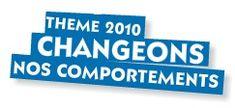 Semaine du développement durable 2010 - comportements