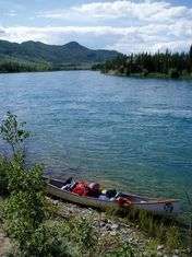 randonnée Canoé au Canada - Fleuve yukon