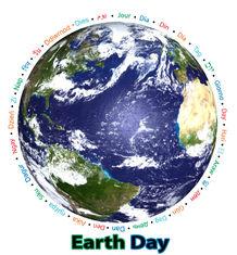 earth day - journée de la terre