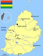 Port Louis - capitale de l'île maurice