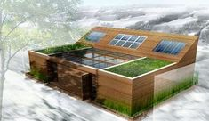 bâtiments bioclimatiques à basse consommation d'énergie