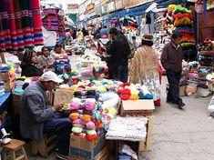 La Paz : capitale de la Bolivie