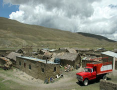 Tuni - Village de la cordillère royale des andes - Bolivie