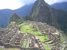 Machu Picchu - civilisation Inca au Pérou
