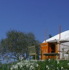 Le Mas Escombelle - location de Yourtes en Provence - Gard et Ardèche