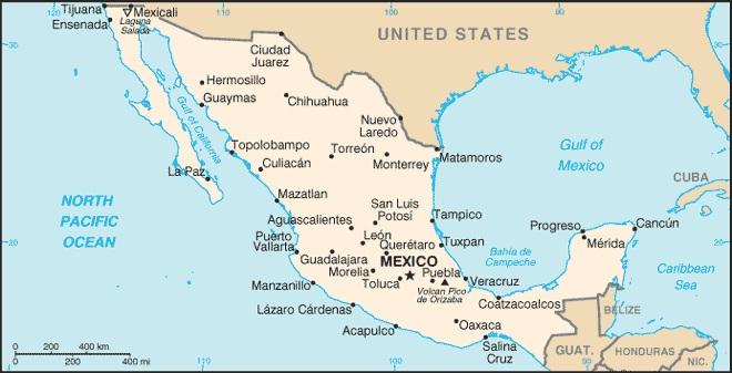 Carte Cuba Guide Du Routard.Carte Du Mexique Routard Et Voyage Responsable Au Mexique