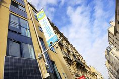 Hotel panneaux solaires paris