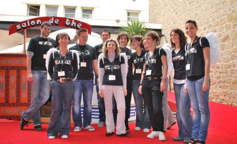 l'équipe du festival Icare