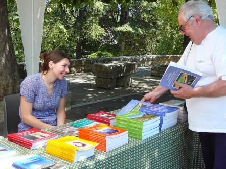 Journée du livre de Grambois Août 2010