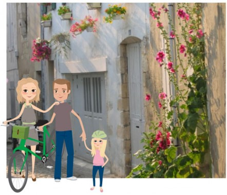 Des vacances en famille à Vélo
